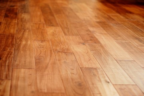 med wood floor