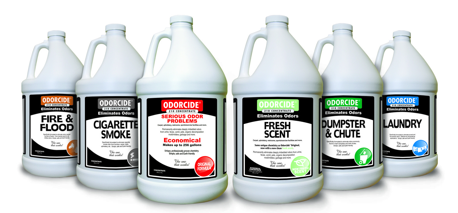 Odorcide Family of Products