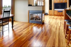 matte finish hardwood floor in home