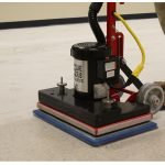 Square Scrub Floor Scrub Machine