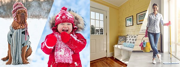 Winter Fun Outside Big Mess Inside